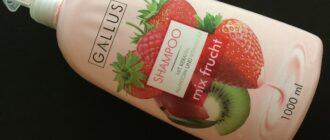 Шампунь Mix frucht из товарной линии Gallus